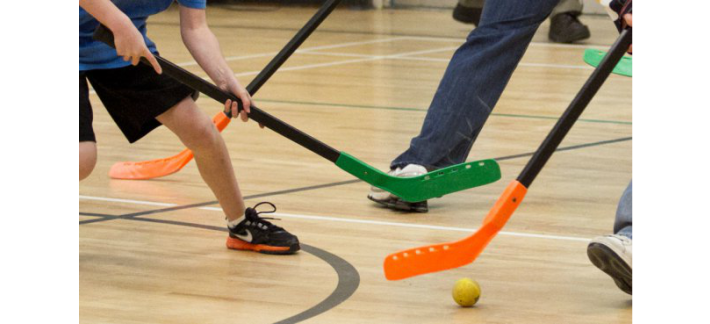 Floor Hockey Hampton Bays Physical Education